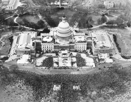 fdr 1933 inauguration airshot