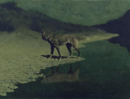 Moonlight, Wolf (c. 1909)