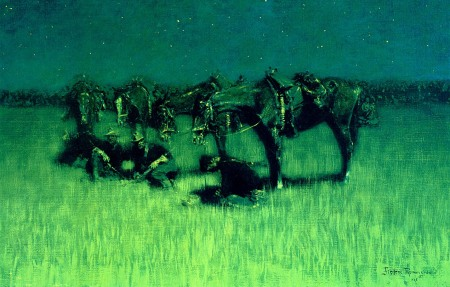Night Halt of the Cavalry (1908)