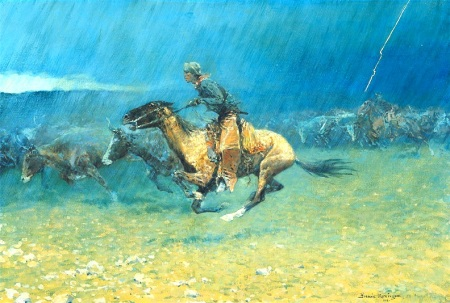 The Stampede (1908)